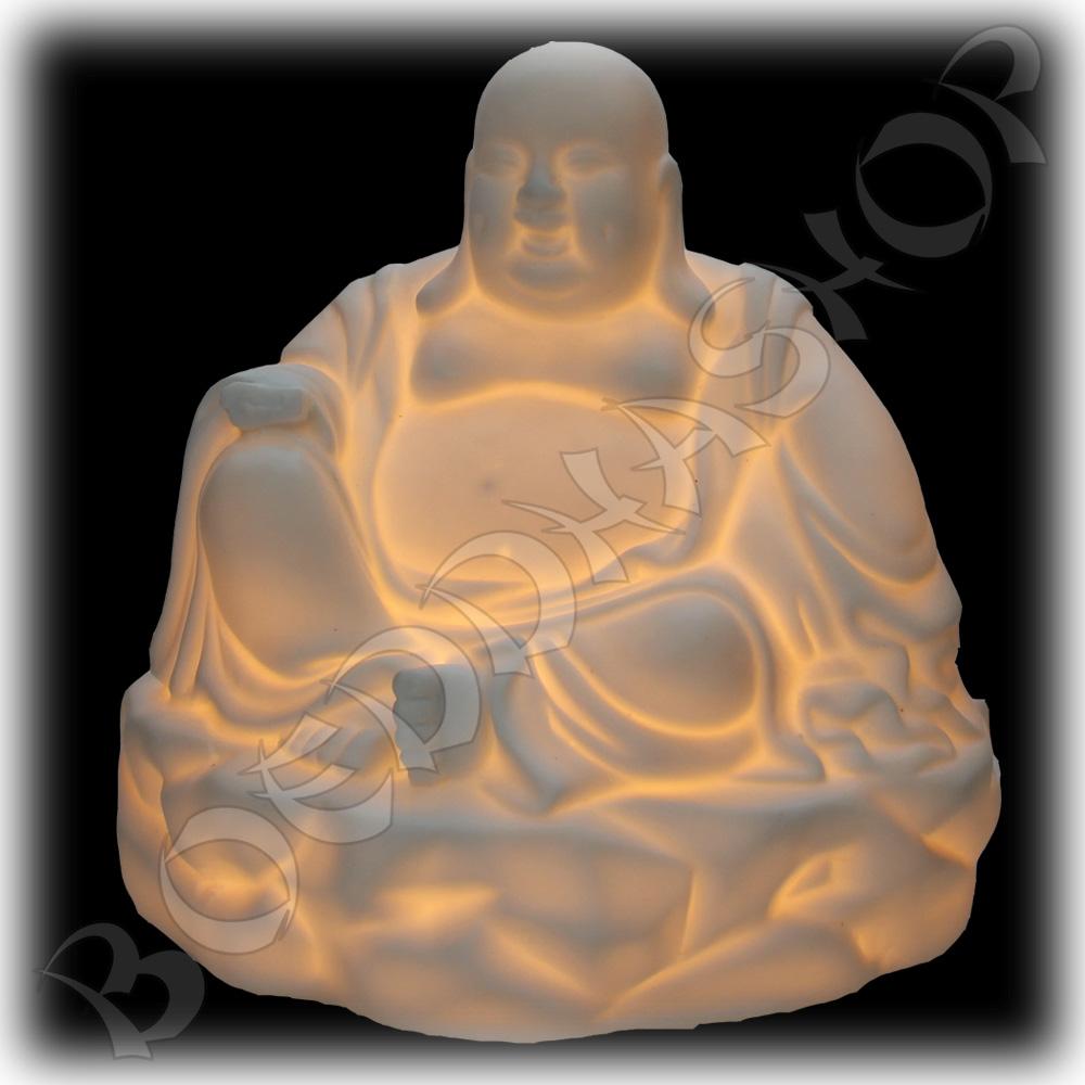 Happy boeddha olieverdamper wit