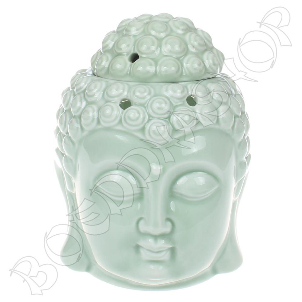 Olieverdamper Thais boeddha hoofd groen