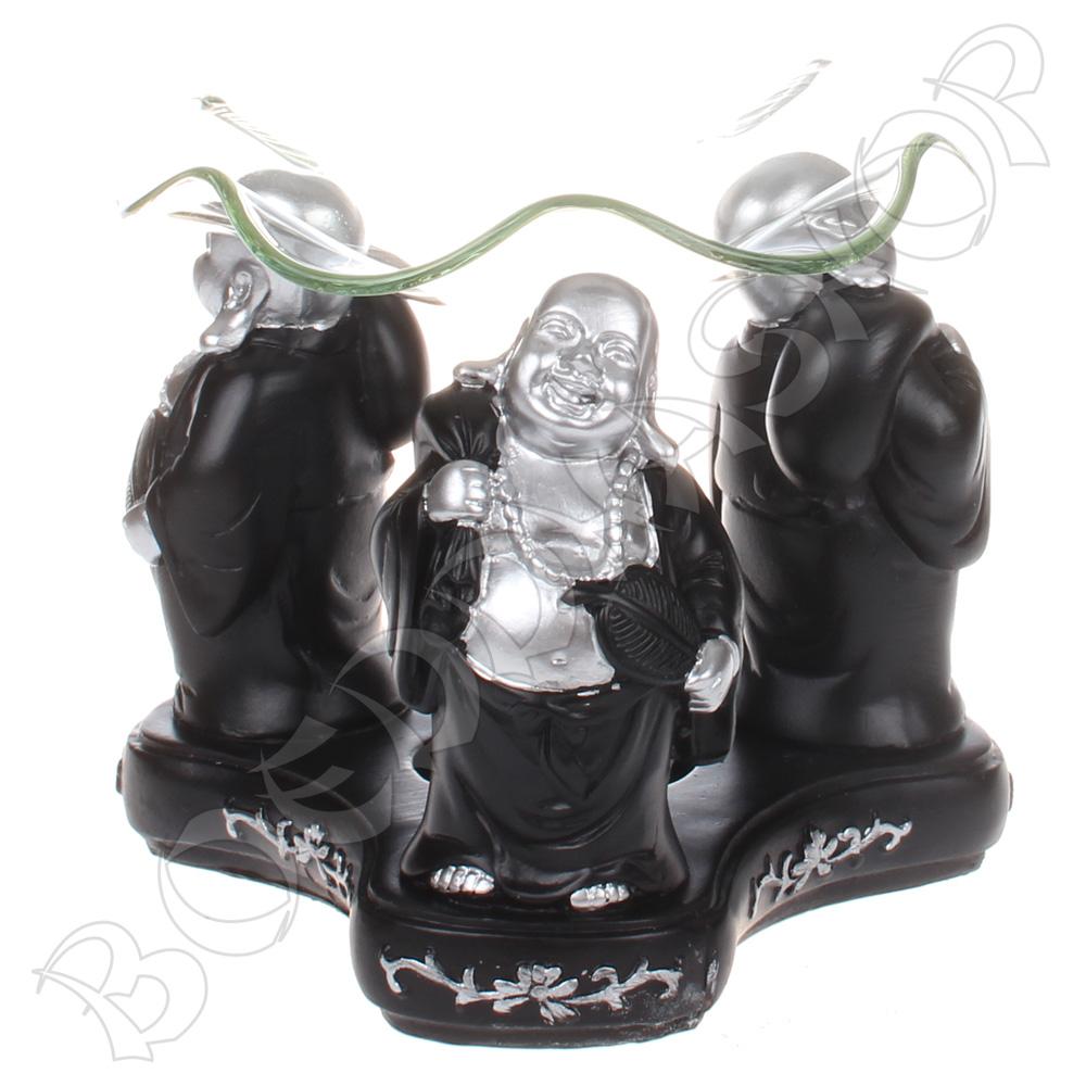 Olieverdamper Happy Boeddha zw/z
