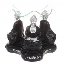 Olieverdamper meditatie Boeddha zw/z
