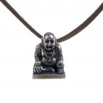 Hanger Happy Boeddha brons