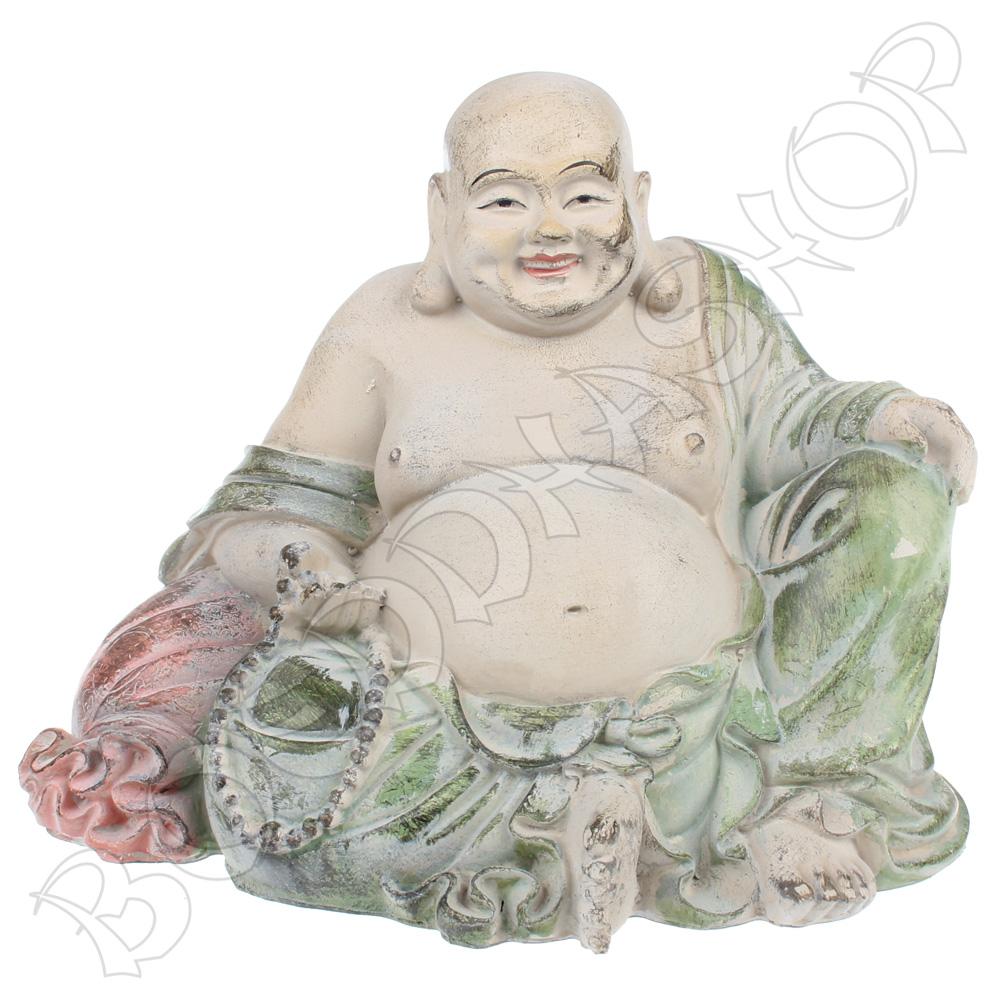 Happy Boeddha pastel antique