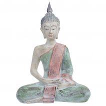 Thaise Boeddha pastel antique L