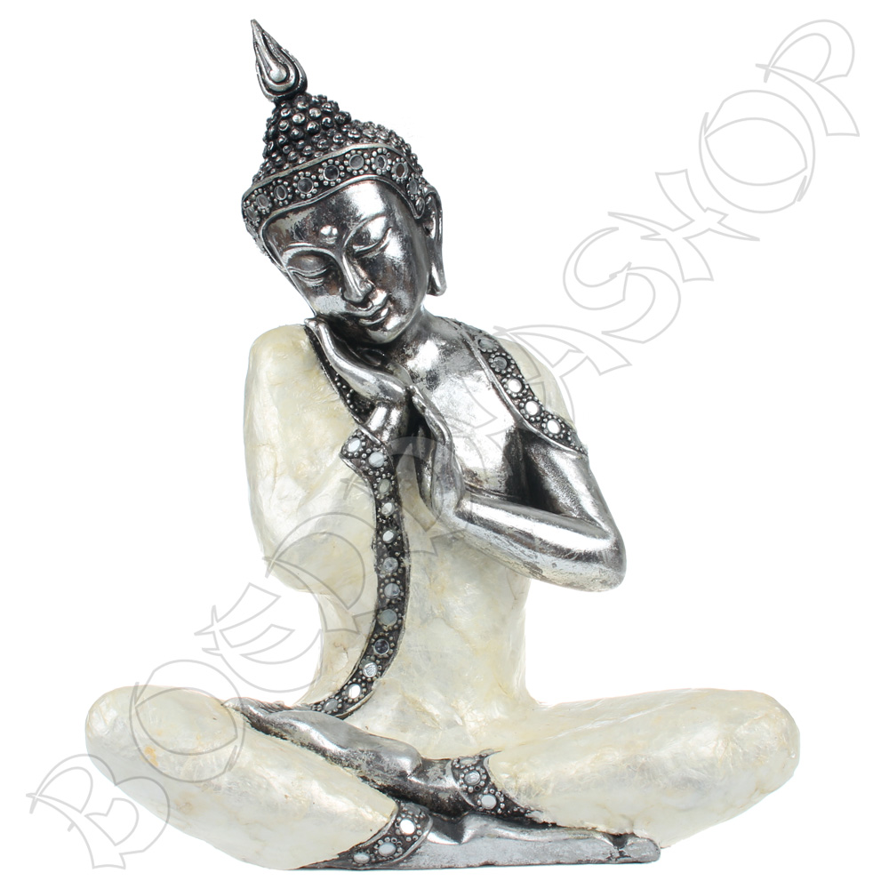 Serene Thaise Boeddha parelmoer