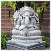 Ganesha tuinbeeld XL licht