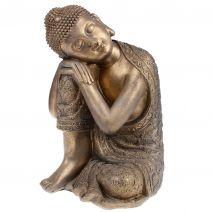 Slapende Boeddha bronslook L