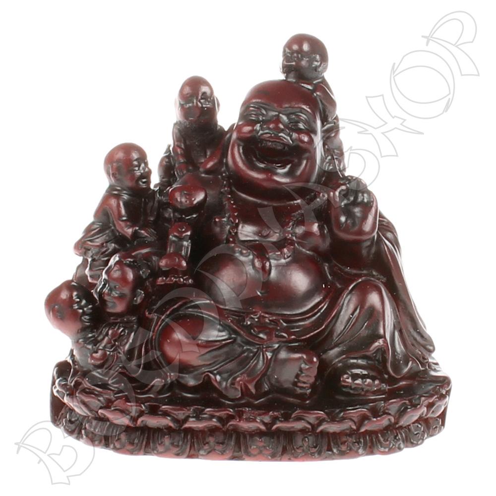 Boeddha met kinderen klein