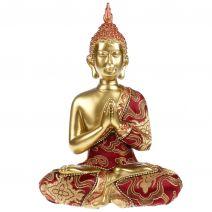 Thaise namaskara Boeddha met luxe gewaad