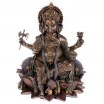 Ganesha op lotusbloem