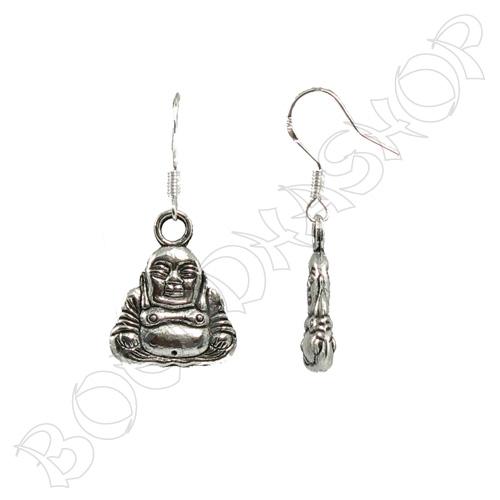 Oorbellen Happy Boeddha klein