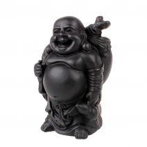 Happy Boeddha met knapzak