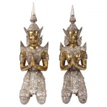 Set handgemaakte bronzen Tempanons M #2
