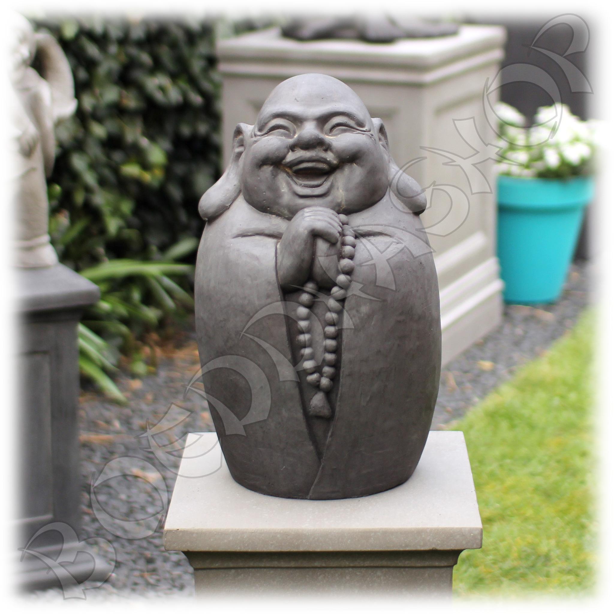 Geluksboeddha tuinbeeld
